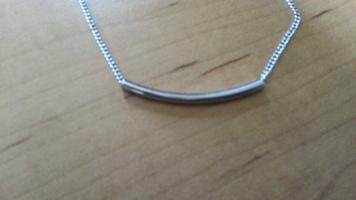 Tube Bracelet in Silver