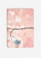 Mauve Mirrored Medium Cotton Notebook