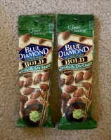 Blue Diamond Almonds Bold Wasabi & Soy Sauce Flavored