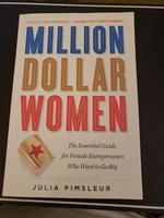 Million Dollar Women Book for Female Entrepreneurs