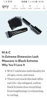MAC extreme definition lash