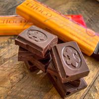 Dark European chocolate