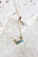 Maya Pendant - Turquoise