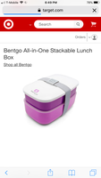Bentgo bento stackable lunchbox