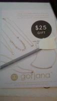 $25 Gorjana Gift Code