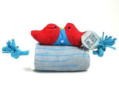 Barkbox Love Birds on a Log Dog Toy