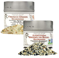 Gustus Vitae Everything Bagel + French Onion Seasoning Duo