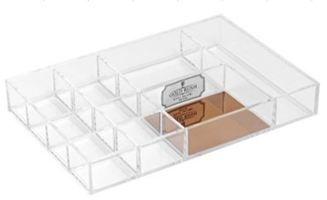 Stackable Acrylic Tray ROSE GOLD