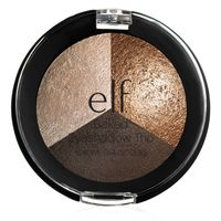 elf baked trio eyeshadow - brown bonanza