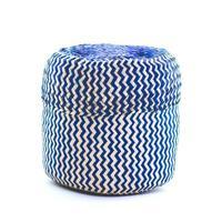 Globein Tigre Handwoven Basket - Blue