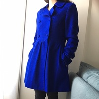Kling royal blue swing peacoat
