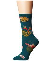 Richer Poorer Paridiso Women's Tropics Inspired Classic Crew Socks