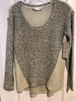 Sweater Tan and Black by rdstyle.com