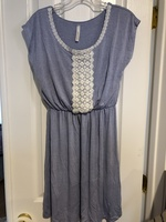 Dress Summer Blue Size S