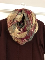 Look Knit Infinity Scarf