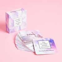 Mindful Wealth Affirmation Cards