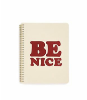 Be Nice Rough Draft Mini Notebook