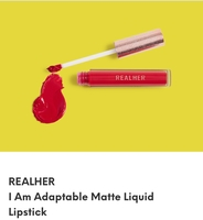 Real Her liquid lip in I am Adaptable