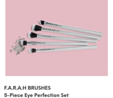 F.A.R.A.H brushes 5-piece eye perfection set