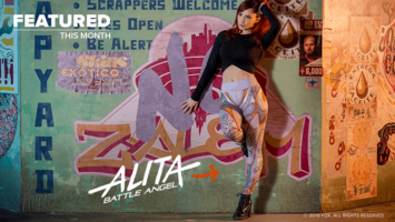 Alita: Battle Angel Leggings