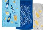 Chic & tonic bar towel set