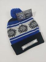 Anti possession symbol knit hat