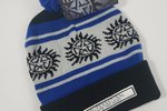 Anti possession symbol knit hat