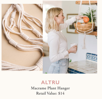 Altru Macrame Plant Hanger