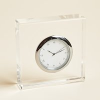 Anna New York Vola Lucite Clock
