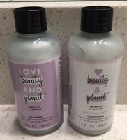 Love Beauty & Planet Argan Oil & Lavender Smooth & Serene Shampoo and Conditioner