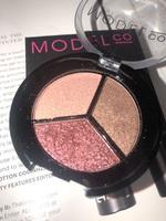 Model Co Metallic Eyeshadow Trio Mykonos