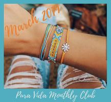 Pura Vida March 2019 bracelets