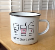 Daisy Mae Tin Cup