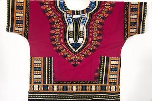 Dashiki in Purple