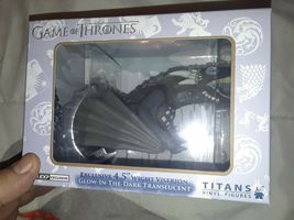 "Game of thrones Titans 4.5"" wight viserion dragon Glow in Dark"