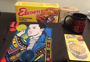 Eleven waffle set