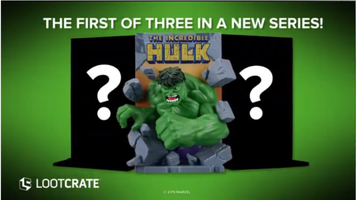 Hulk 3D Comic Standee