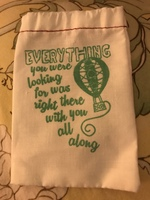 "fandom of the month drawstring bag - Wizard of Oz: ""Everything you were looking for..."""