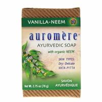Auromere Ayurvedic Soap Vanilla-Neem