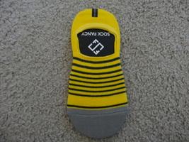 Sock Fancy Yellow No-Show Socks