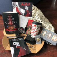 Owlcrate March Four Dead Queens Compass Pin