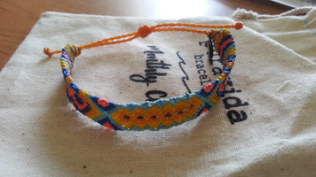 Pura Vida March 2019 single braided bracelet