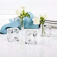 A La Carte Napkin holder and Flower vase