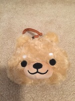 Dog plush pouch