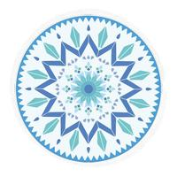 Claire Roundie - Blue Moroccan