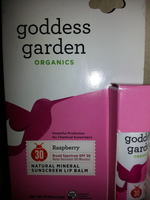 Green Goddess Organics Raspberry Lip Balm