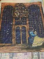 Beauty & The Beast Tapestry