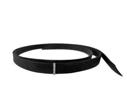La Soula Velvet Topaz Wrap Bracelet in Black