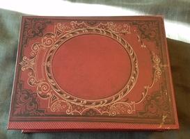 Book shaped jewelry box