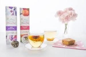 Flower Pot Tea Company Flavored Blooming Tea - Coconut Escape